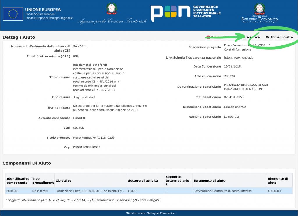 Come accedere al Registro pubblico degli Aiuti di Stato