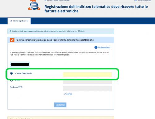 Come registrare il tuo indirizzo telematico all'Agenzia delle Entrate (codice destinatario o e-mail PEC)
