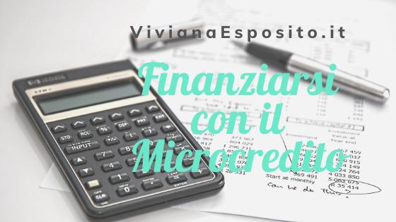 Finanziarsi con il Microcredito